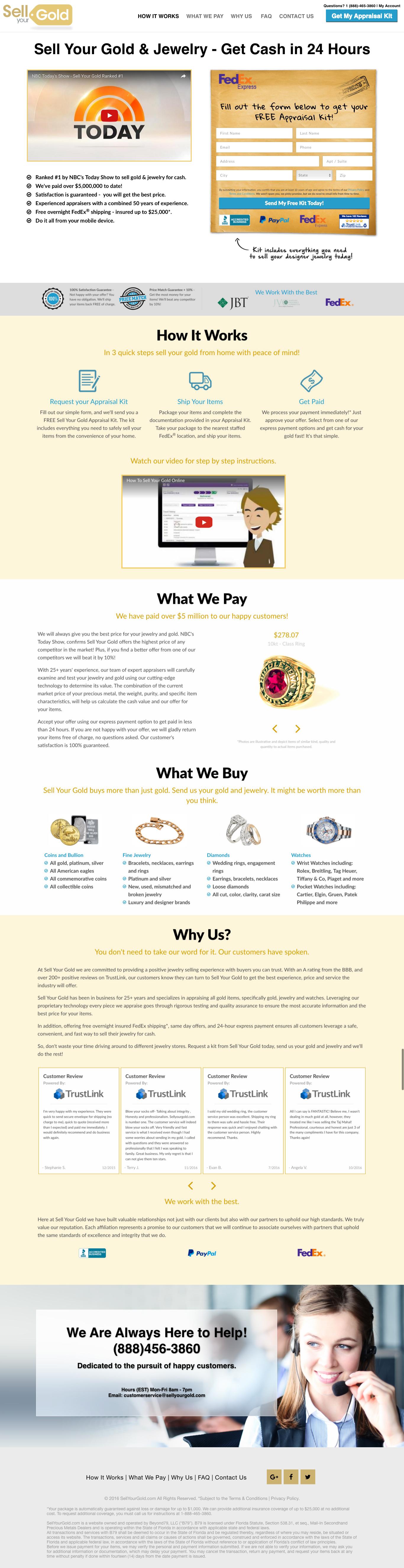 kunalamin.com SYG home-page concept